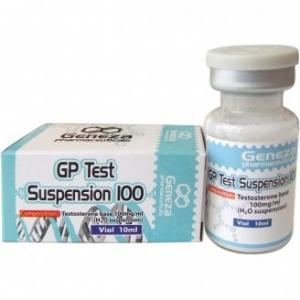 GP Test Suspension 100 - Testosterone Suspension - Geneza Pharmaceuticals